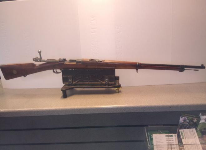 Gustav, Carl 6.5x55 Swedish Mauser (Smoothbore)