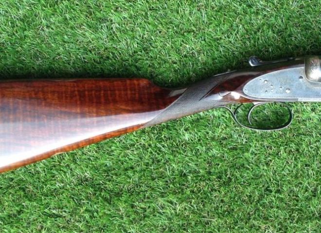 Lang & Hussey 12 gauge IMPERIAL  single trigger (sidelock ejector)