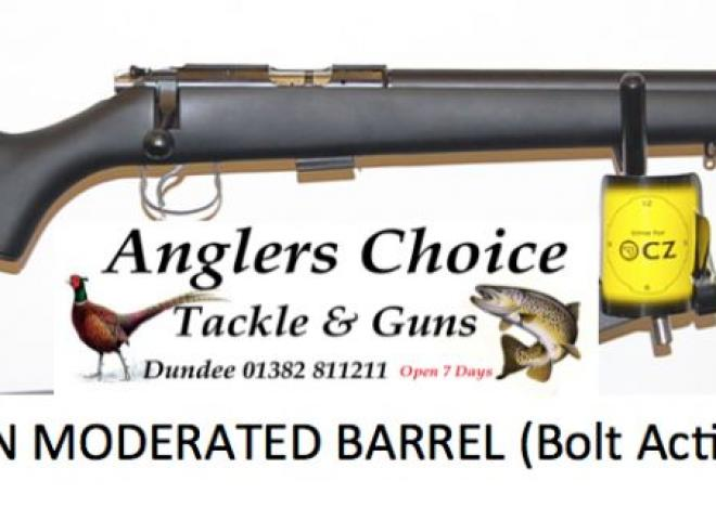 CZ .22 LR BLACK SYN MODERATED BARREL