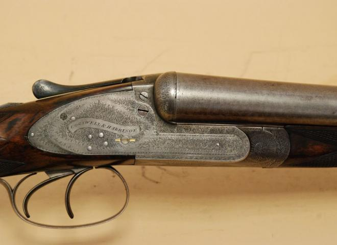 Cogswell & Harrison 12 gauge Sidelock Non Ejector (Damascus)