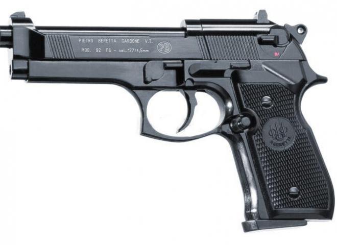 Beretta .177 M 92 FS Black