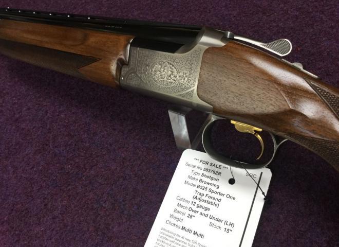 Browning 12 gauge B525 Sporter One (Trap Forend (Adjustable))