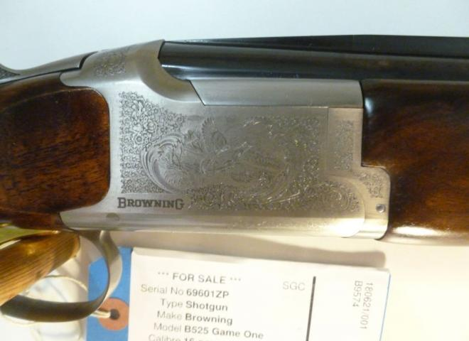 Browning 16 gauge B525 Game One