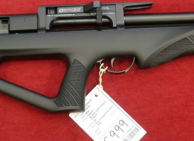 BSA .22 Defiant (BLACK SOFT TOUCH STOCK)
