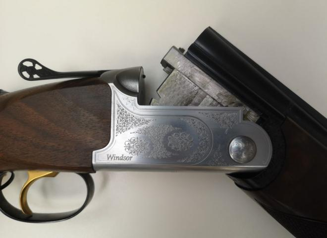 Cogswell & Harrison 12 gauge windsor Sporting