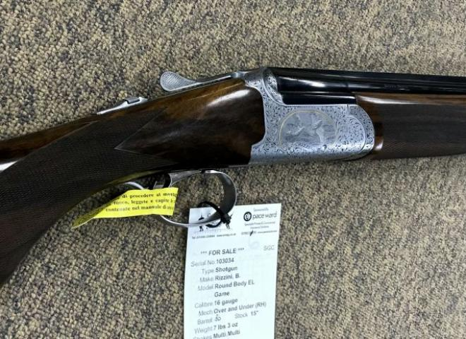 Rizzini, B. 16 gauge Round Body EL (Game)