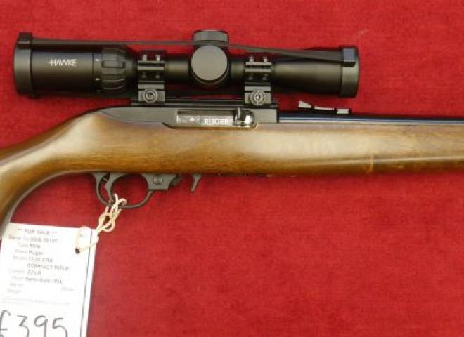 Ruger .22 LR 10/22 CRR (COMPACT RIFLE)