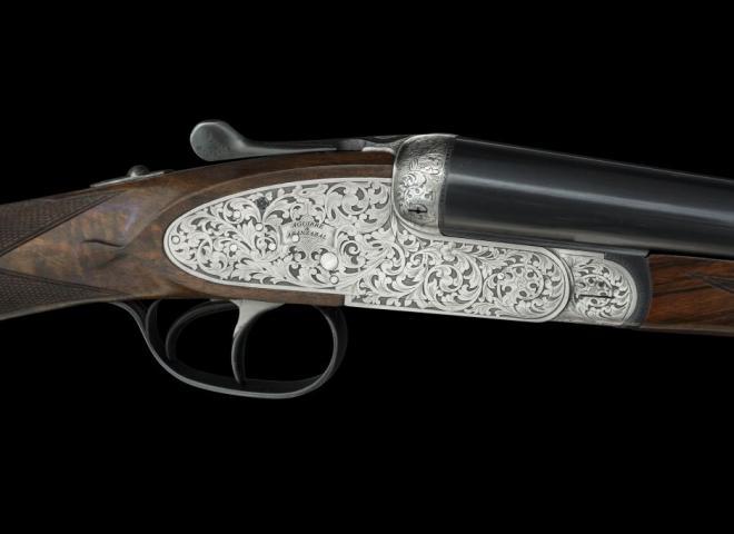 AYA 20 gauge #2 Sidelock de Luxe (floral engraved)