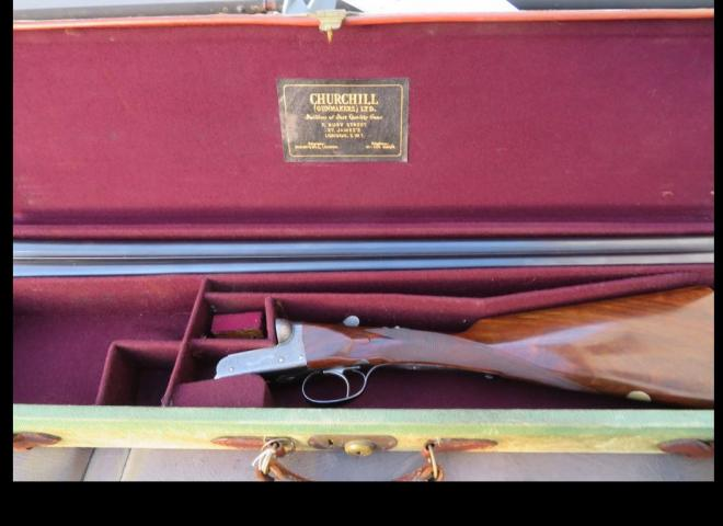 Churchill, E. J. 12 gauge