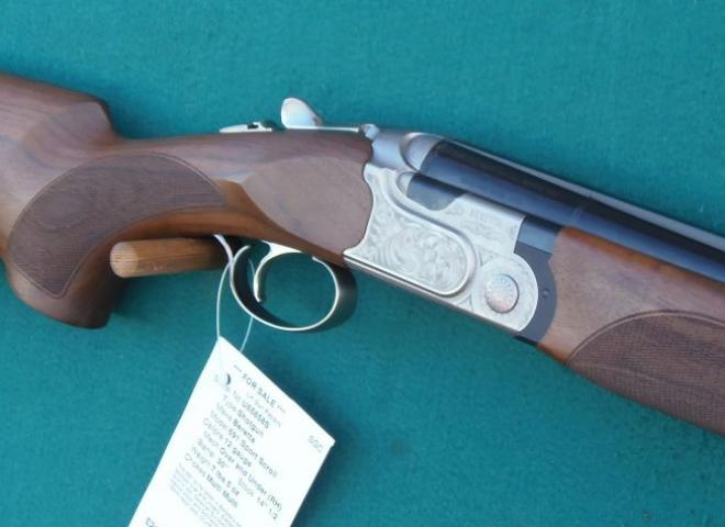Beretta 12 gauge 691 Sport Scroll