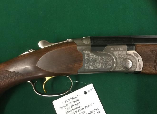 Beretta 12 gauge 686 Silver Pigeon 1