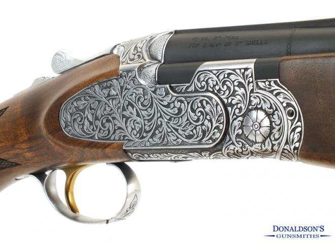 ATA 12 gauge Deluxe Hand Engraved Sporter