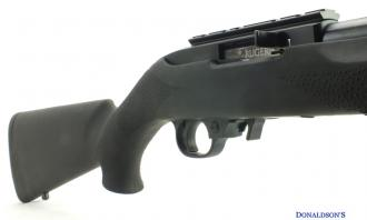 Ruger .22 LR 10/22 Hogue stock Blued - Image 1