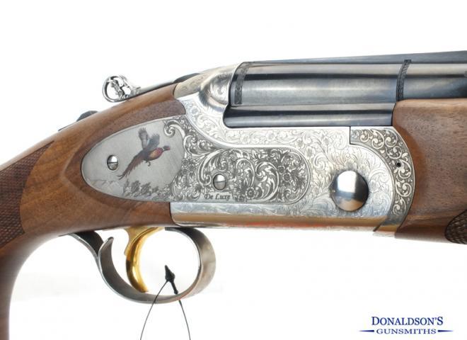 Bettinsoli 12 gauge Portrait Deluxe Sideplate
