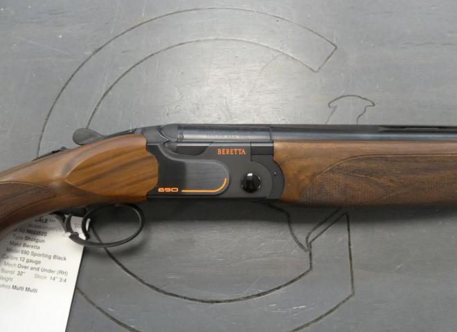Beretta 12 gauge 690 Sporting Black Adjustable