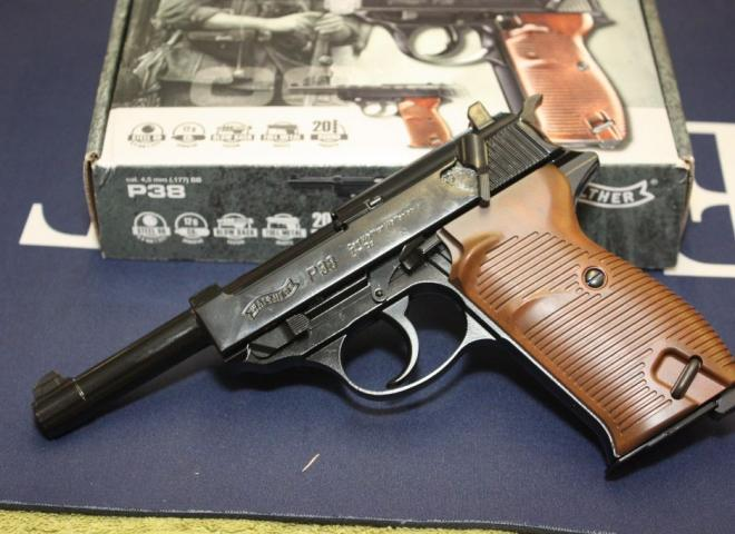 Walther .177 (BB) P38