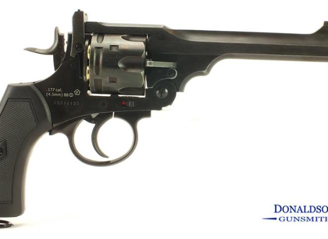 Webley .177 (BB) Mark VI  Service Revolver Battlefield