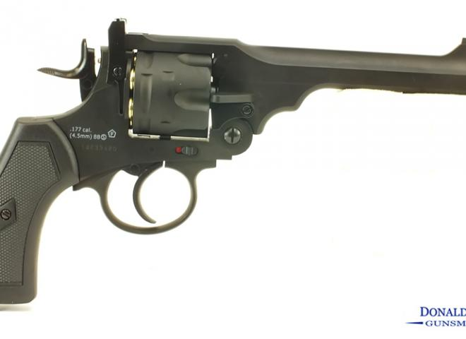 Webley .177 (BB) Mark VI  Service Revolver