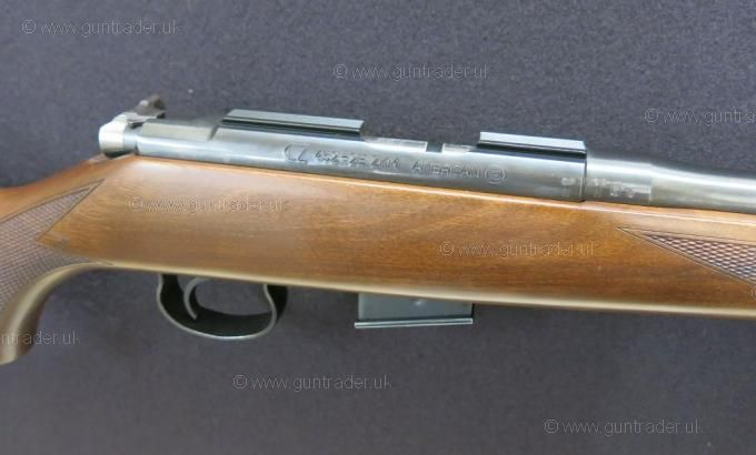 "CZ .17 HMR 452 American (Screw Cut 1/2""UNF)"