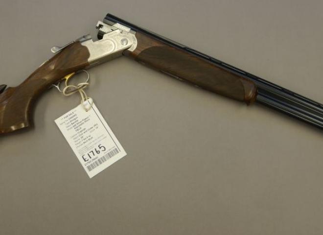 Beretta 12 gauge 686 Silver Pigeon 1 Adjustable Stock (FIELD)