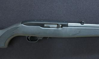 Ruger .22 LR 10/22 Synthetic Blued (Screw Cut 1/2