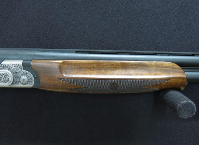 ATA 12 gauge Silver Line Sideplate (Sporter Multichoke)