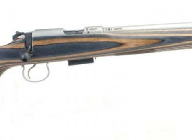 CZ .17 HMR 455 Thumbhole Laminate Stainless