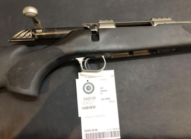 Thompson .243 Icon Stainless Synthetic