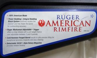 Ruger .22 WMR American Rimfire - Image 2