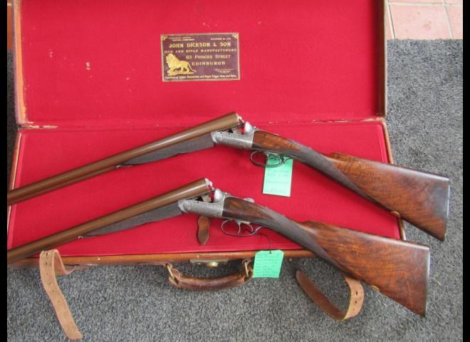 Dickson, John & Son 12 gauge Round Action