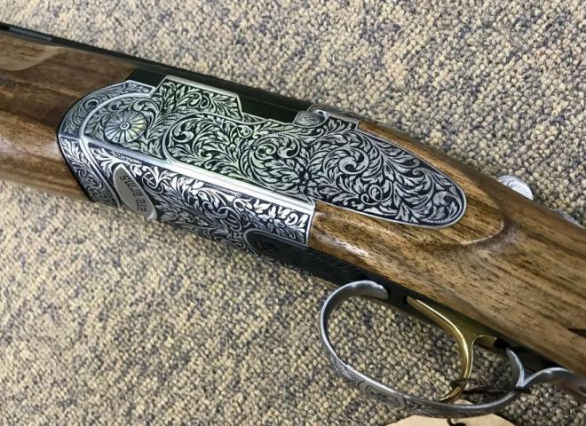ATA 12 gauge SP Deluxe Hand Engraved (Sporter)