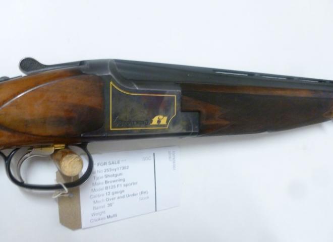 Browning 12 gauge B125 F1 sporter