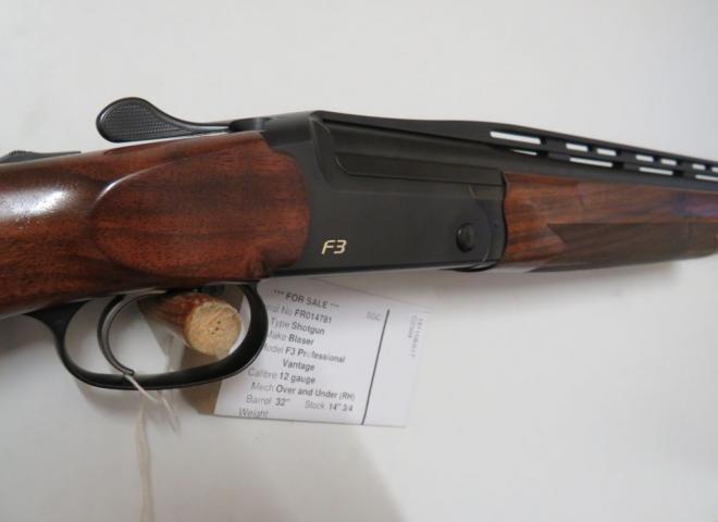Blaser 12 gauge F3 Professional (Vantage)