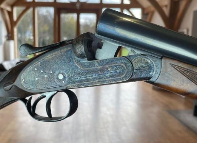 AYA 20 gauge #2 Sidelock round body