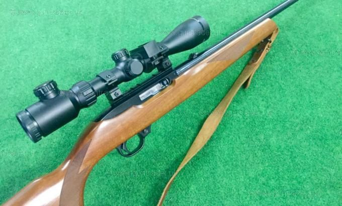 Ruger .22 LR 10/22 Delux Walnut Blued