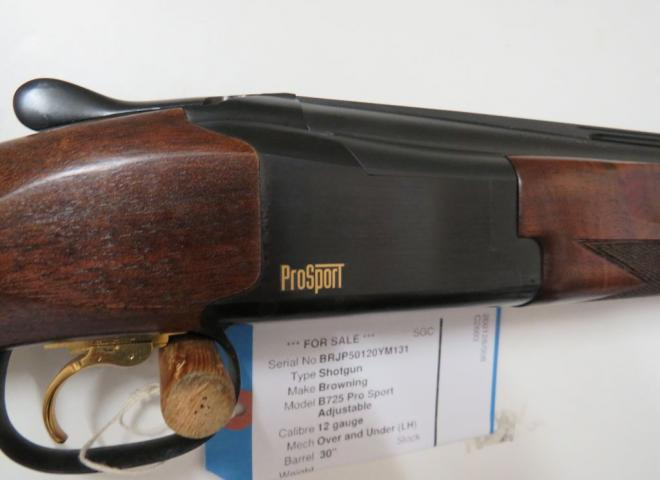 Browning 12 gauge B725 Pro Sport Adjustable