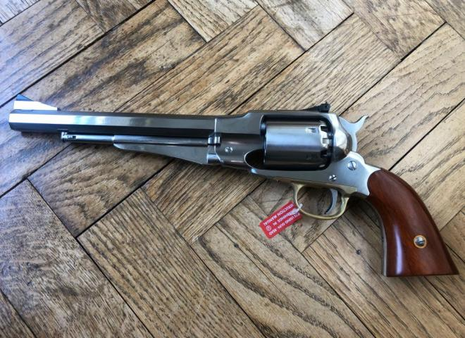 Uberti .44 1858 Remington New Army Target Stainless