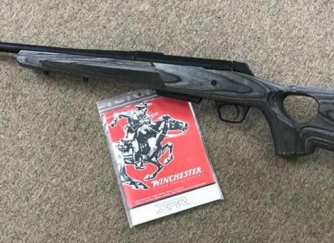 Winchester .243 XPR Thumbhole Laminate ((Screw Cut))