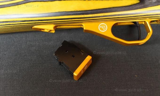 CZ .22 LR 455 Thumbhole (YELLOW LAMINATE)