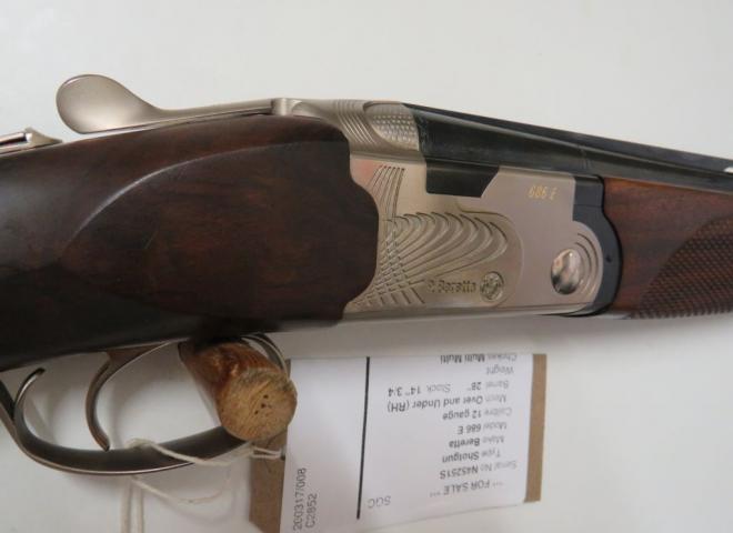 Beretta 12 gauge 686 E