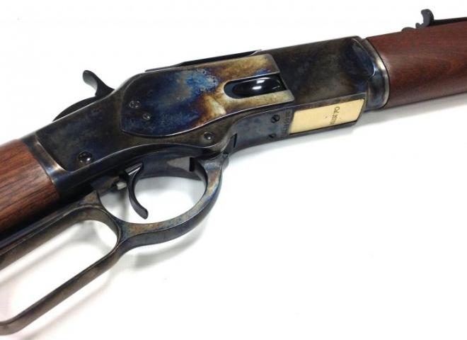 Winchester .38/.357 Magnum M73 Sporter (Colour Case Hardened)