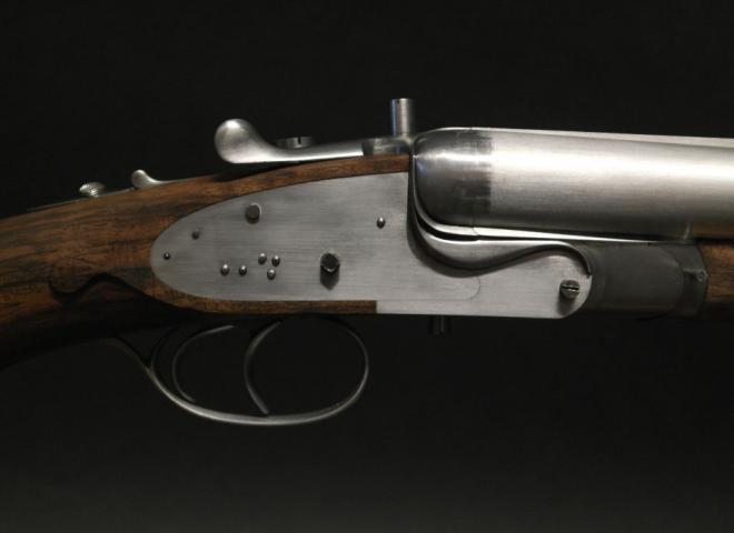 Carl Russell & Co .470 Nitro Express Best Sidelock Ejector