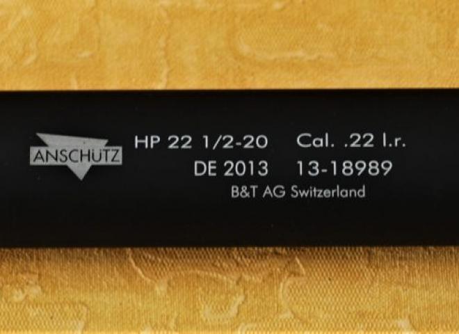 Anschutz .17 to .22 Rimfire