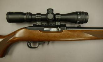 Ruger .22 LR 10/22 Delux Walnut Blued - Image 3