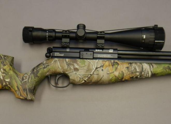 BSA .22 Scorpion SE Multishot Realtree Camo