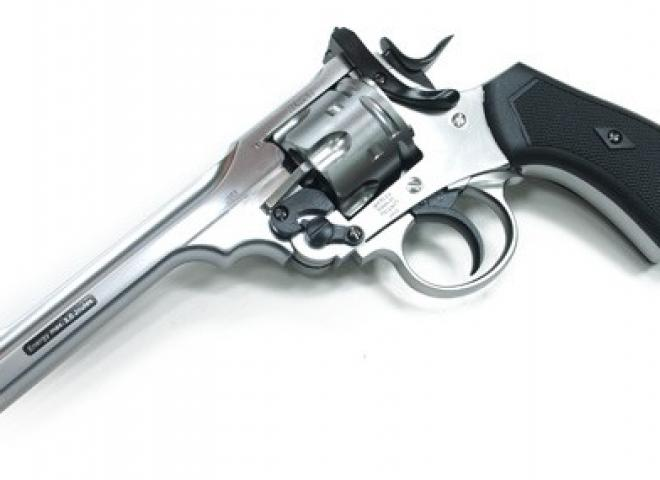 Webley .177 Mark VI  Service Revolver (Exhibition Finish)