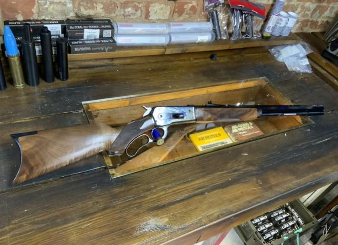 Winchester .45-70 Model 1886 (Delux)