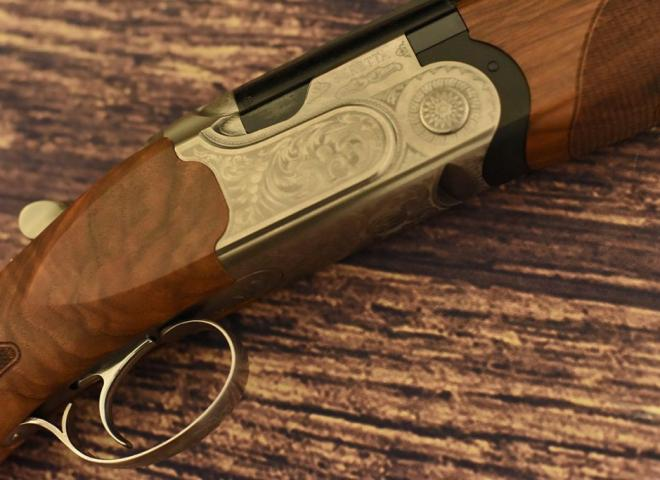Beretta 12 gauge 690 1 Sporter (SCROLL)