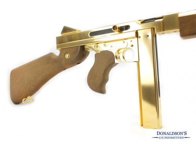 Umarex .177 M1A1 Gold Tommy Gun