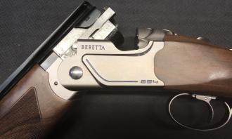 Beretta 12 gauge 694 Trap Adjustable - Image 1